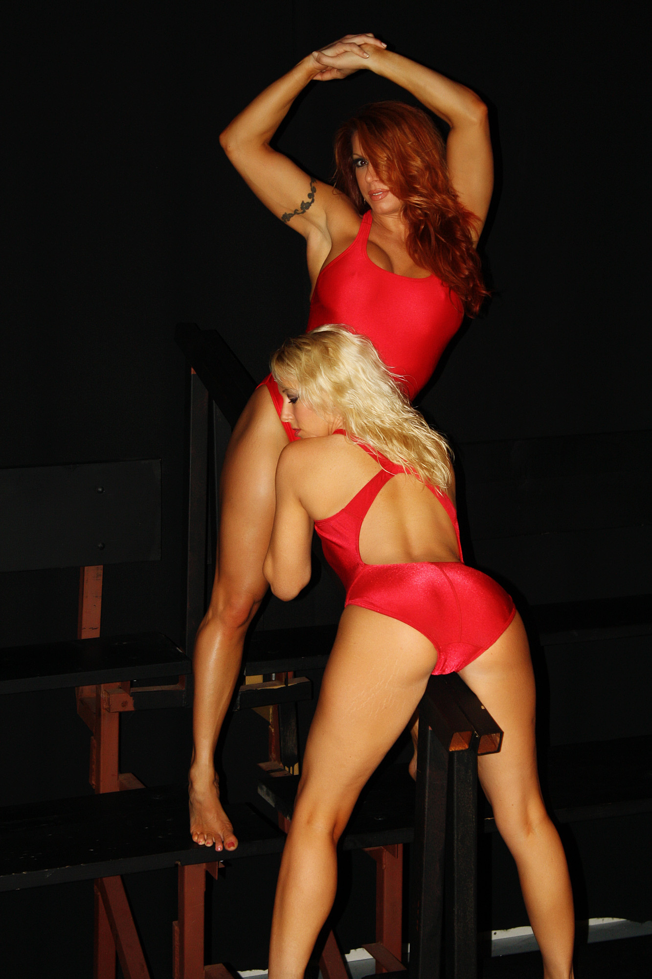 Amber O Neal amber and april: baywatch babes - official website of april